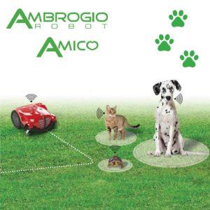 Amico Ambrogio jest przyjacielem wszystkich zwierząt i szanuje ich potrzebę przestrzeni. Amico