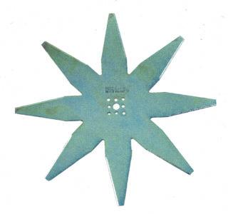 Nóż płaski 8-ramienny 25 cm