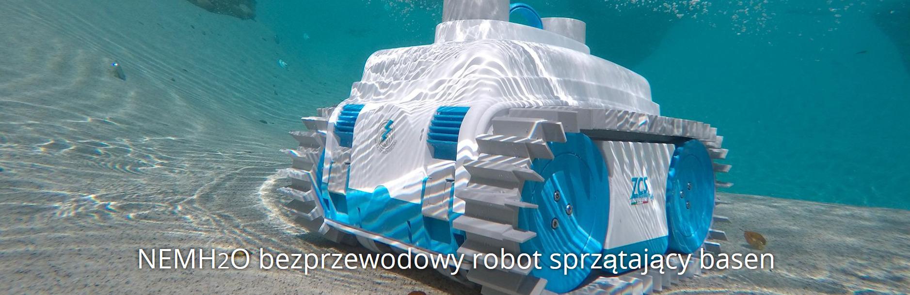 Roboty do czyszczenia dna basenów